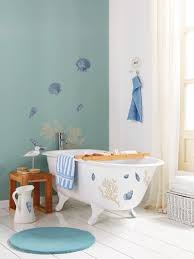 Nautical Bathroom Ideas Nautical Bathroom Wall Decor Large Wall Mirror Shower With Glass