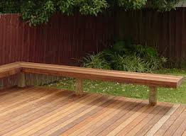 how to build deck bench seating how to make a bench seat page 1
