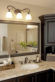 glorious brushed nickel bathroom mirror decorating ideas images in