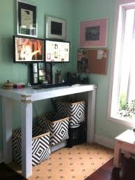 diy stand up desk for the office assemble shelving units from