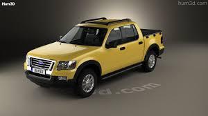 Ford Explorer Truck - 360 view of ford explorer sport trac 2006 3d model hum3d store