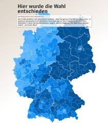 Election Interactive Map by German Election Dataviz Recap