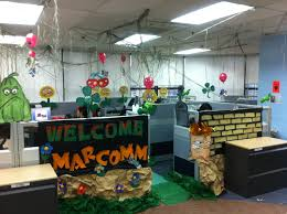 interior design cool halloween theme decorations office nice
