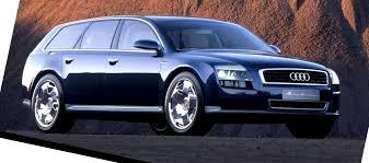 bentley suv 2014 concept flashback 2001 audi avantissmo is a8 dreamwagon