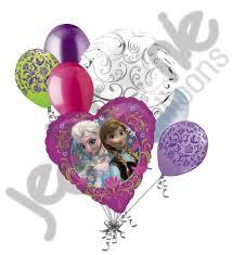 frozen balloons disney princess frozen elsa balloon bouquet jeckaroonie