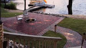 How To Lay Paver Patio Diy Paver Patio Project Delightful Outdoor Ideas