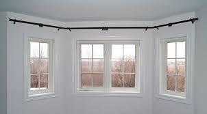 Linden Street Curtain Rods Bay Window Curtain Rod Pinterest Full Size Of Curtain25 Best
