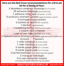 first aid kit beyond the band aid aid kit red cross and