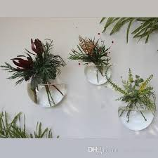 glass air plants wall bubble terrarium fighting fish tank for home