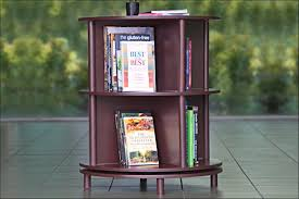 scoopon circular rotating bookcase delivered