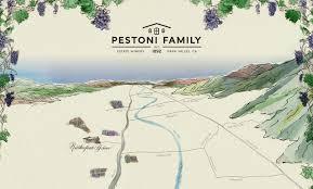 California Wine Country Map Pestoni Family Estate Winery Interactive Map