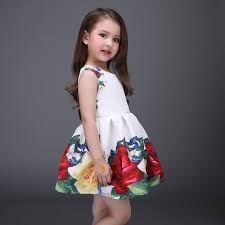 aliexpress com buy princess soft dress girls ball gown floral
