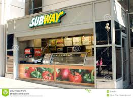 subway restaurant stock photos images pictures newest small fast