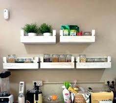kitchen wall shelves ideas terrific kitchen wall shelves shelving handcrafted wooden pallet