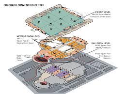 floor plan of colorado convention center visit denver