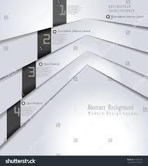 modern design white paper layout stock vector 157762352 shutterstock