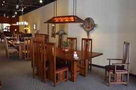 Arts And Crafts Dining Room Set Mission Style Arts And Crafts Chandelier Ceiling Light