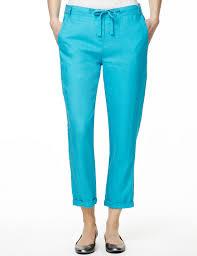 pure linen peg leg trousers m u0026s