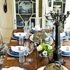 thanksgiving table decoration ideas candlelight dinner