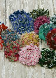 Shabby Flowers Crafting Flowers Hair Bows Crafting Flowers For Hair Clips