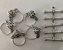 Toggle Clasps For Jewelry Making - flower clasp etsy