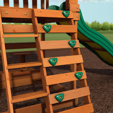 independence wooden swing set