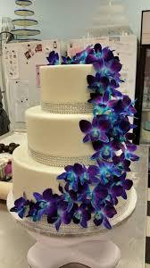 orchid wedding cake by raptor on deviantart