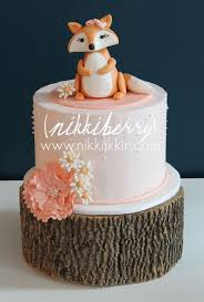 baby fox cake topper by nikkiikkin on etsy so cute would be