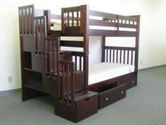 Bunk Bed Side Rails Bunk Beds Top Bottom Trundle 4 Drawers In