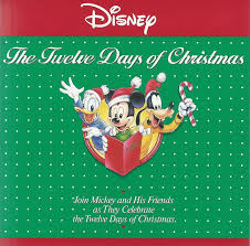 disney the twelve days of christmas amazon com music