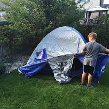 Tent In Backyard by Tips For Backyard Camping With Kids A Pretty Life In The Suburbs