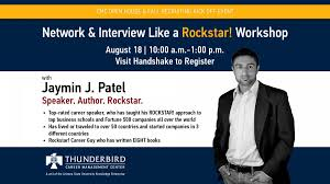 network and interview like a rockstar workshop asu events