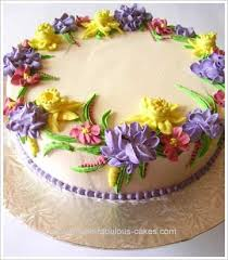 Image For Flowers Best 25 Flower Birthday Cakes Ideas On Pinterest Floral Cake