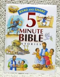 read and share 5 minute bible stories children u0027s book review