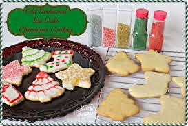 old fashioned tea cake christmas cookies