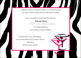 black and pink bachelorette cocktail party invitation last bling