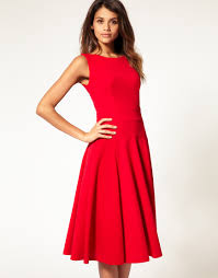 fit and flare dress asos midi fit flare dress with basqued waist correct me if i m