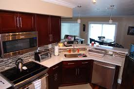 Kitchen Ideas With Cherry Cabinets by Kitchen Design Ideas Stone International Shaker Cabinets