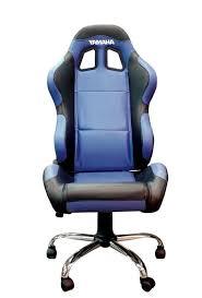fauteuil siege baquet fauteuil yamaha siège baquet paddock bleu noir accessoires stand
