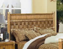 wicker headboard king warmth and naturalness wicker headboard