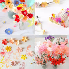 Make Your Own Paper Flowers - paper flowers famille summerbelle