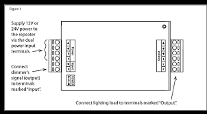 pwm 12v led amplifier repeater