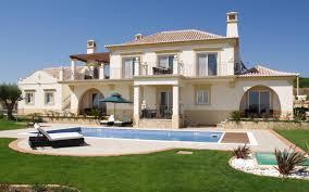 modern luxury villa villas modern architecture desktop photo for