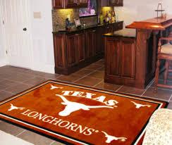 university of texas longhorns area rug carpet flooring 4x6 ebay