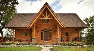 home floor plans canada log and timber frame