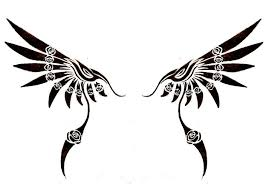 tribal wings pictures to pin on tattooskid