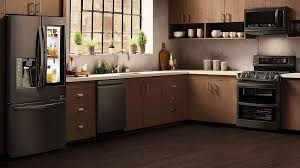 what color cabinets go well with black stainless steel appliances best color alternatives to stainless steel for kitchen