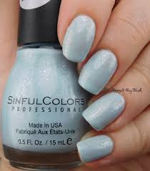 sinful colors desert divas stoned crystal shimmer nail polish