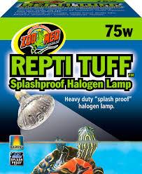 Zoo Med Light Fixture by Zoo Med Repti Tuff Halogen Lamp 75 Watt Chewy Com