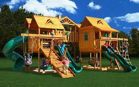 Swing Sets For Small Backyard by Awesome Backyards Playsets Design Ideas Backyard Playsets